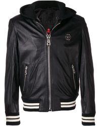 Philipp Plein Куртка-бомбер 'Aggressive' - Черный
