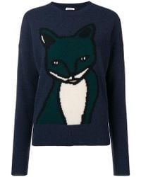 P.A.R.O.S.H. - Animal Embroidered Sweater - Lyst