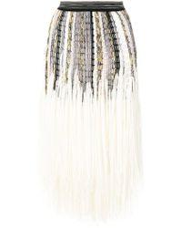 Missoni - Knitted Full Skirt - Lyst