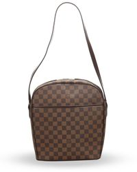 Louis Vuitton Сумка На Плечо Damier Ebene 2005-го Года Pre-owned - Коричневый