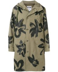 Moschino | Painterly Floral Parka | Lyst