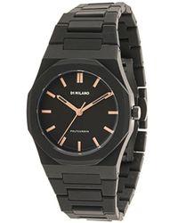 D1 Milano Polycarbon Dawn Light 40.5mm Watch - Black