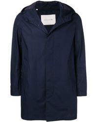 Mackintosh ストームシステム コットン フーデッドコート Gm-007b/sh - ブルー