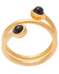 Lizzie Fortunato - Spiral Ring - Lyst