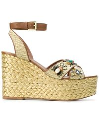 Ash - Tulum Wedge Sandals - Lyst