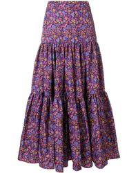 LaDoubleJ Ball Tiered Skirt - Pink