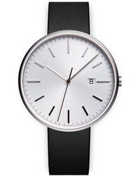Uniform Wares Reloj M40 PreciDrive con fecha - Negro