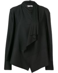 Issey Miyake - Pleated Draped Jacket - Lyst