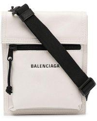 Balenciaga Маленькая Сумка-мессенджер Explorer - Белый
