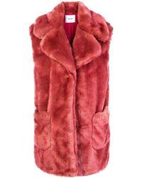 Dondup - Faux Fur Vest - Lyst