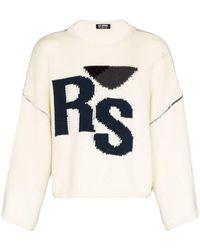 Raf Simons Rs ウール セーター - ホワイト