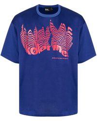 Kolor ロゴ Tシャツ - ブルー