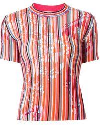 Emilio Pucci - ストライプ Tシャツ - Lyst
