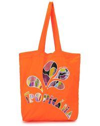 Isabel Marant Woom Tote Bag - Orange