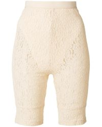 Nina Ricci - Lace Shorts - Lyst