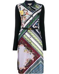 Tory Burch Платье Миди С Цветочным Принтом - Многоцветный