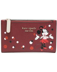 Kate Spade Minnie Mouse 財布 - レッド