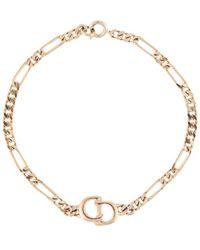 Dior Cd チェーンリンク ブレスレット - マルチカラー