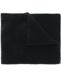 Dolce & Gabbana Cable-knit Scarf - Black