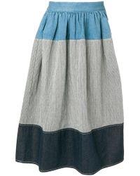 Visvim - Full Patterned Skirt - Lyst