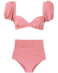 Amir Slama Bikini estilo hot pants - Rosa
