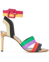 Marskinryyppy Ankle Strap Court Shoes - Multicolour