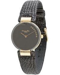 Dior Наручные Часы Bagheera Black Moon 46 Pre-owned 15 Мм - Синий