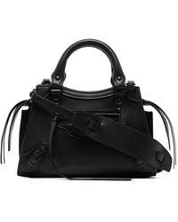 Balenciaga Mini sac à main Neo Classic City - Noir