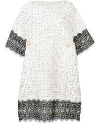 Faith Connexion - Embellished Buttons Dress - Lyst