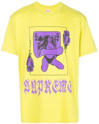 Supreme - Queen プリント Tシャツ - Lyst