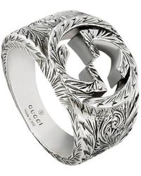 Gucci - 'GG' Ring - Lyst