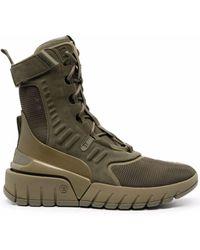 Balmain Высокие Кроссовки B-army - Зеленый