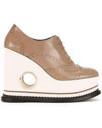 Paloma Barceló Paloma Barceló 'covita' Lace-up Shoes - Brown