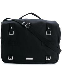 e7f77cf35e Saint Laurent Classic Messenger Bag in Black for Men - Lyst