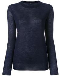 JOSEPH - Cashmere Long-sleeved Top - Lyst