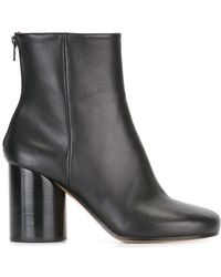 Maison Margiela - Block Heel Ankle Boots - Lyst
