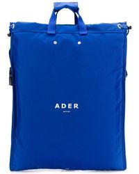 ADER error - Square Shaped Oversized Backpack - Lyst