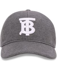 Burberry Embroidered Baseball Cap - Grey