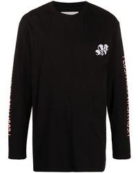 Henrik Vibskov グラフィック Tシャツ - ブラック