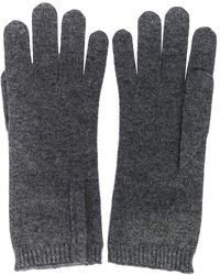 Brunello Cucinelli Перчатки Тонкой Вязки - Серый