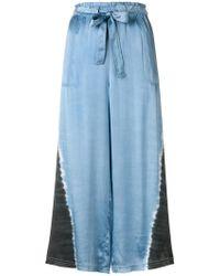 Raquel Allegra - Cropped Pyjama Trousers - Lyst