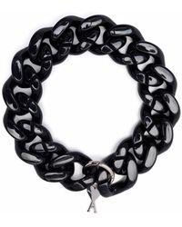 AMI Ami De Coeur Necklace - Black