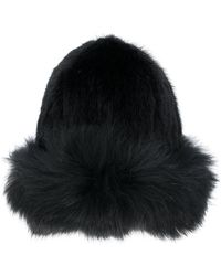 Yves Salomon - Fur Beanie Hat - Lyst