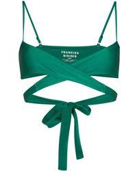 Frankie's Bikinis Top bikini Falcon Shine - Verde