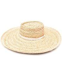 Zimmermann Соломенная Шляпа С Широкими Полями - Многоцветный