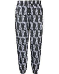 Vans Leopard-print Track Trousers - Multicolour