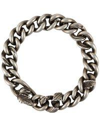 Werkstatt:münchen Embellished Chain Bracelet - Metallic