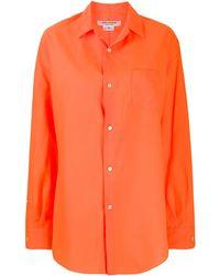 Junya Watanabe ロングシャツ - オレンジ