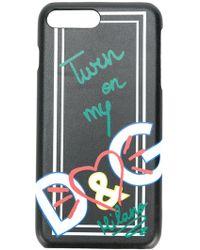 Dolce & Gabbana - プリント Iphone 7 Plus ケース - Lyst