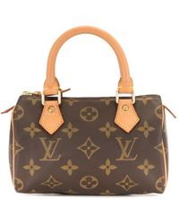Louis Vuitton Borsa mini Speedy Pre-owned 2000 - Marrone